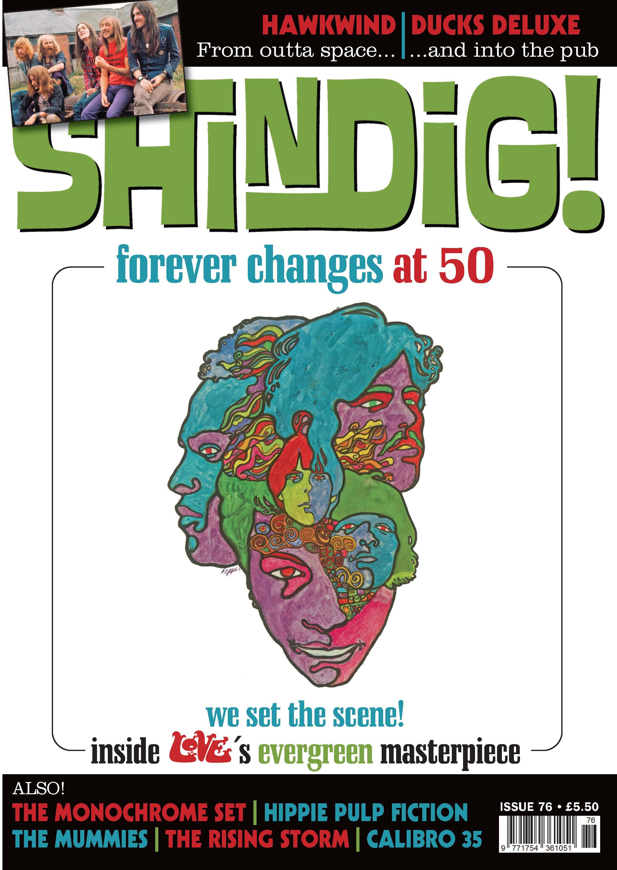 SHINDIG! Issue 76 (published: 01/02/2018)